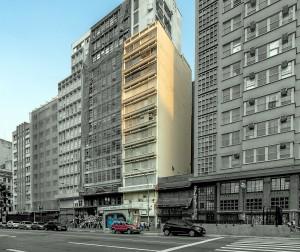 Edifício Atlanta: projetado pelo alemão Adolf Franz Heep, foi um dos primeiros do Brasil concebido com quitinetes