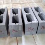 Blocos de concreto obtiveram classificação C, com função estrutural para uso em elementos de alvenaria acima do nível do solo