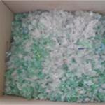Preparo dos resíduos de PET, até a obtenção da matéria-prima utilizada para substituir o agregado miúdo (areia)