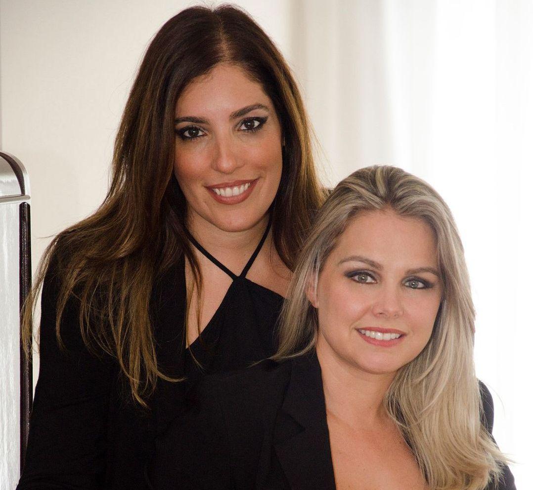 Fernanda Bittencourt e Elaine Baggio