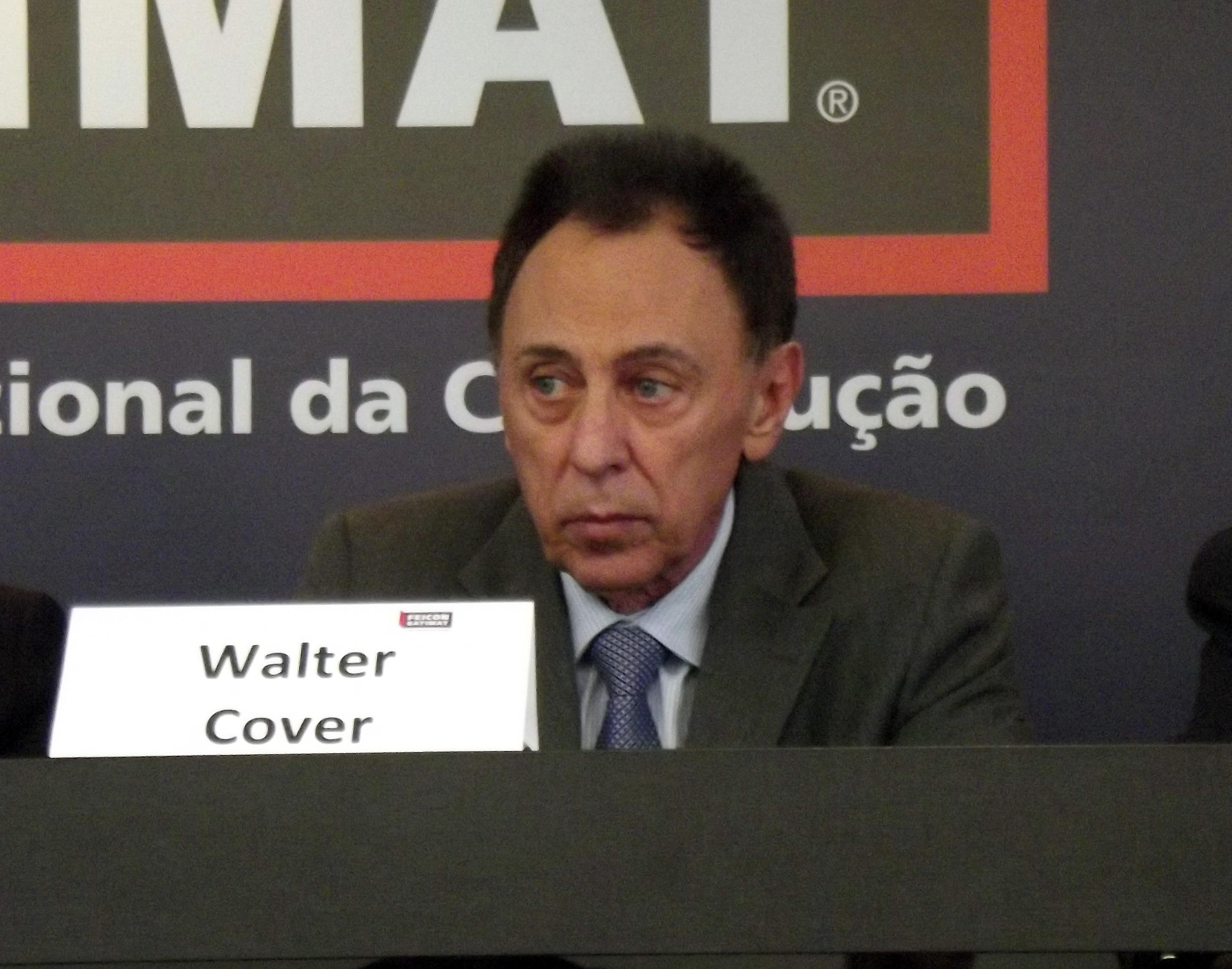 Walter Cover, presidente da Abramat: feira procurou aprofundar conhecimento técnico sobre produtos pré-fabricados