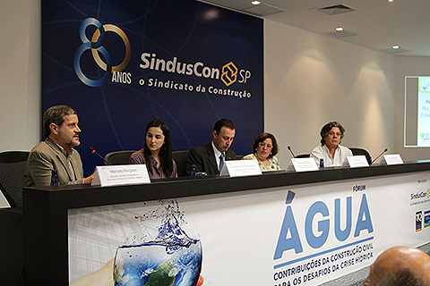 SindusCon-SP debateu a crise hídrica e as práticas e tecnologias necessárias para adaptação do ambiente construído