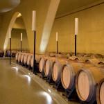 Adega Antión: concreto colorido amarelo para ajudar no envelhecimento do vinho