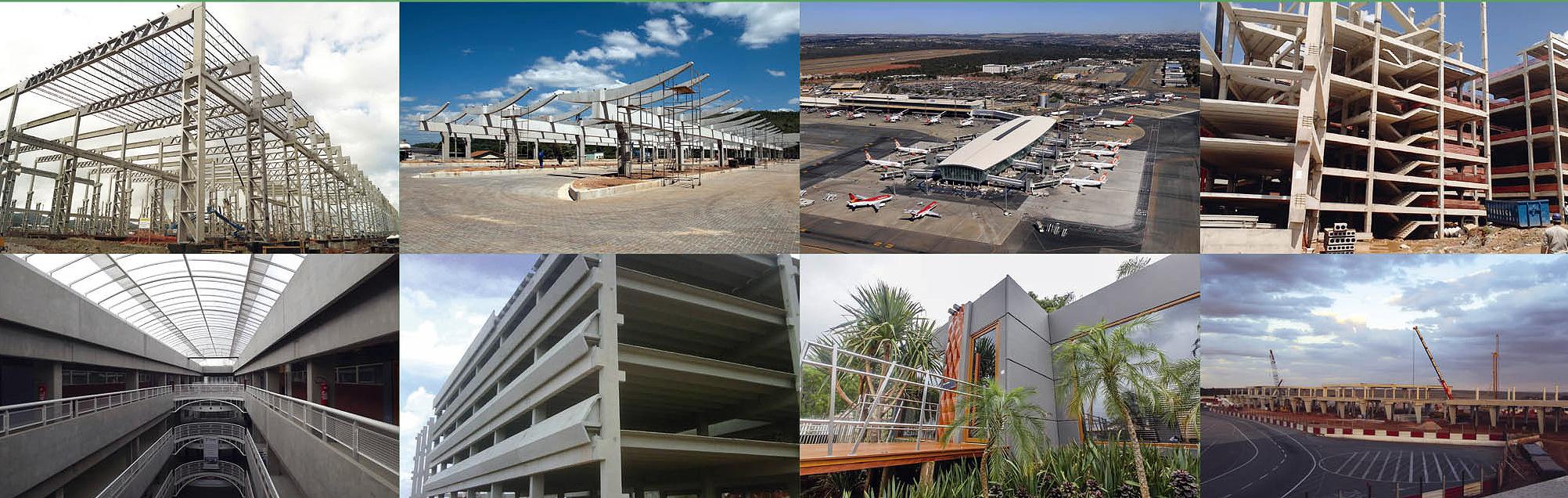 Em 2014, construção industrializada consumiu 407 mil toneladas de cimento e produziu 1,063 milhão de m³ em estruturas pré-moldadas