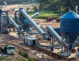 Na região metropolitana de São Paulo, Odebrecht instalou uma unidade só para reciclar resíduos de obras
