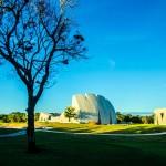 Complexo cultural fica em um condomínio de alto luxo localizado em Trancoso, no litoral sul da Bahia