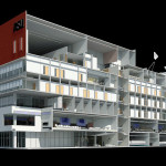 Ferramenta BIM: imagem em 3D permite analisar todos os projetos em conjunto, melhorando a qualidade da obra.