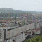 Canal do Panamá: obra é a que mais consome concreto atualmente no continente americano.