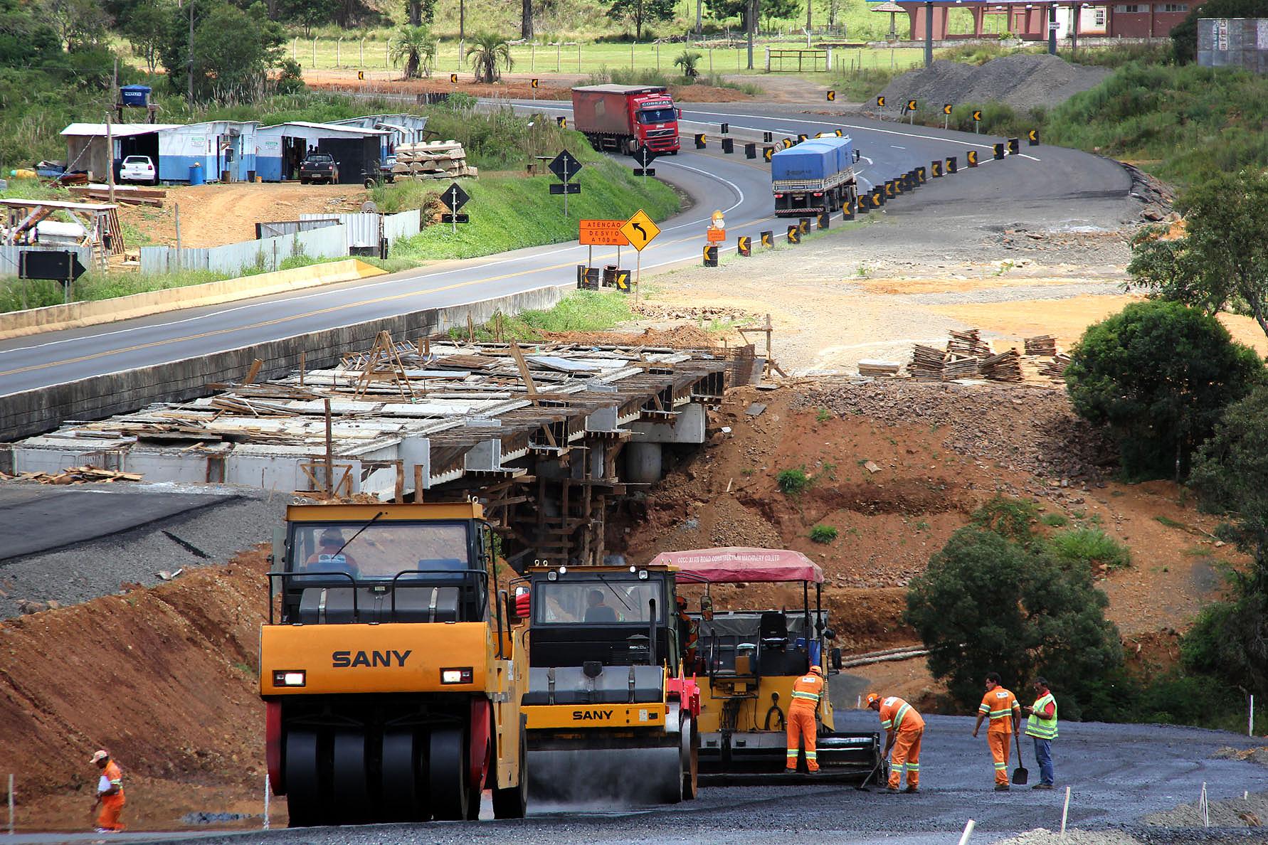 Duplicação da BR 277, entre Guarapuava e Relógio: recursos do BID viabilizam obras rodoviárias de leste a oeste