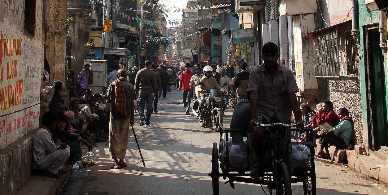 Calcutá, na Índia: entre as 76 cidades que serão transformadas até 2026.