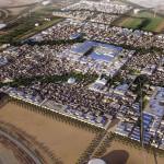 Masdar, nos Emirados Árabes Unidos: em seus 6 km², cidade se propõe a ser 100% sustentável.