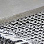 Concreto têxtil: em vez de armadura de ferro, um tecido com fibra de carbono altamente resistente.