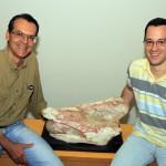 Luiz Carlos Borges Ribeiro e Thiago Marinho: é mito acreditar que retirada de fóssil de canteiro de obras paralisa construção