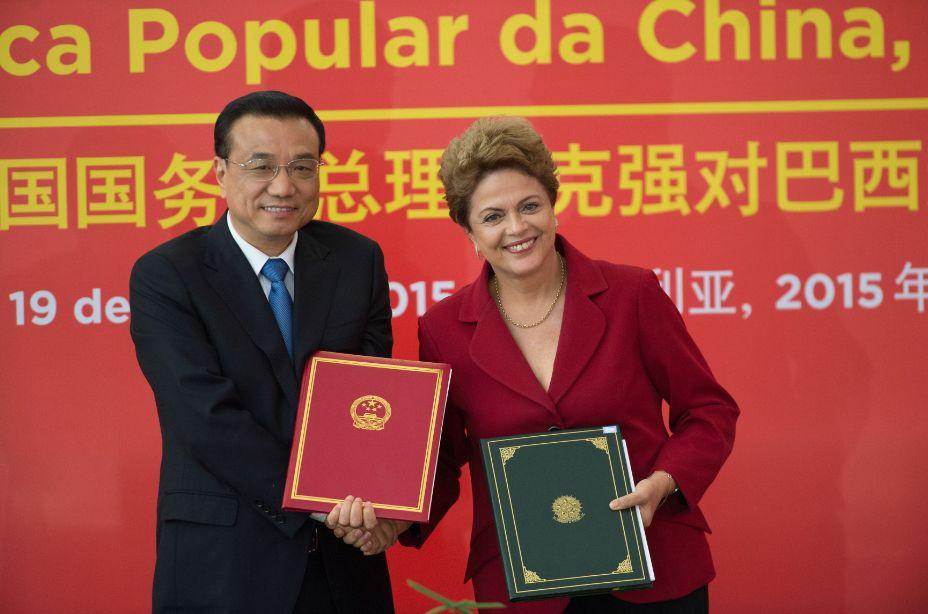 Acordos assinados entre a presidente Dilma Rousseff e o premier chinês Li Keqiang destacam a construção da ferrovia Transoceânica