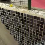 EPS é envolvido por uma estrutura de aço e depois revestido com concreto