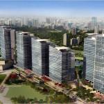 Projeção de como será o Parque da Cidade: bairro verde em plena cidade de São Paulo