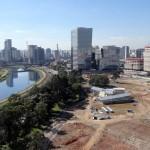 Canteiro de obras do Parque da Cidade: previsão de entrega para 2018