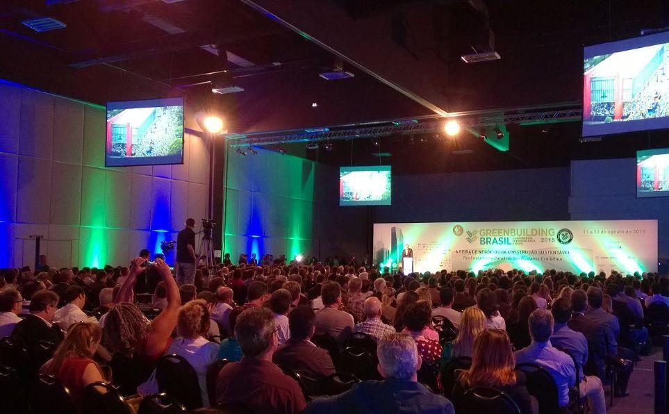 Abertura do GreenBuilding Brasil 2015: evento desperta cada vez mais interesse na cadeia produtiva da construção civil
