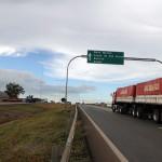 Trecho privatizado da Cuiabá-Santarém, conhecido como Rota do Oeste: asfalto novo e bem conservado