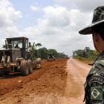 Dos 3.467 quilômetros da BR-163, exército atua em alguns trechos que ainda pertencem ao governo federal