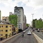Área do Minhocão, na cidade de São Paulo: 140 paredões à espera de jardins verticais
