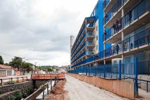Favela do Sapé, na periferia da cidade de São Paulo: projeto viabilizado sem recursos do Minha Casa Minha Vida