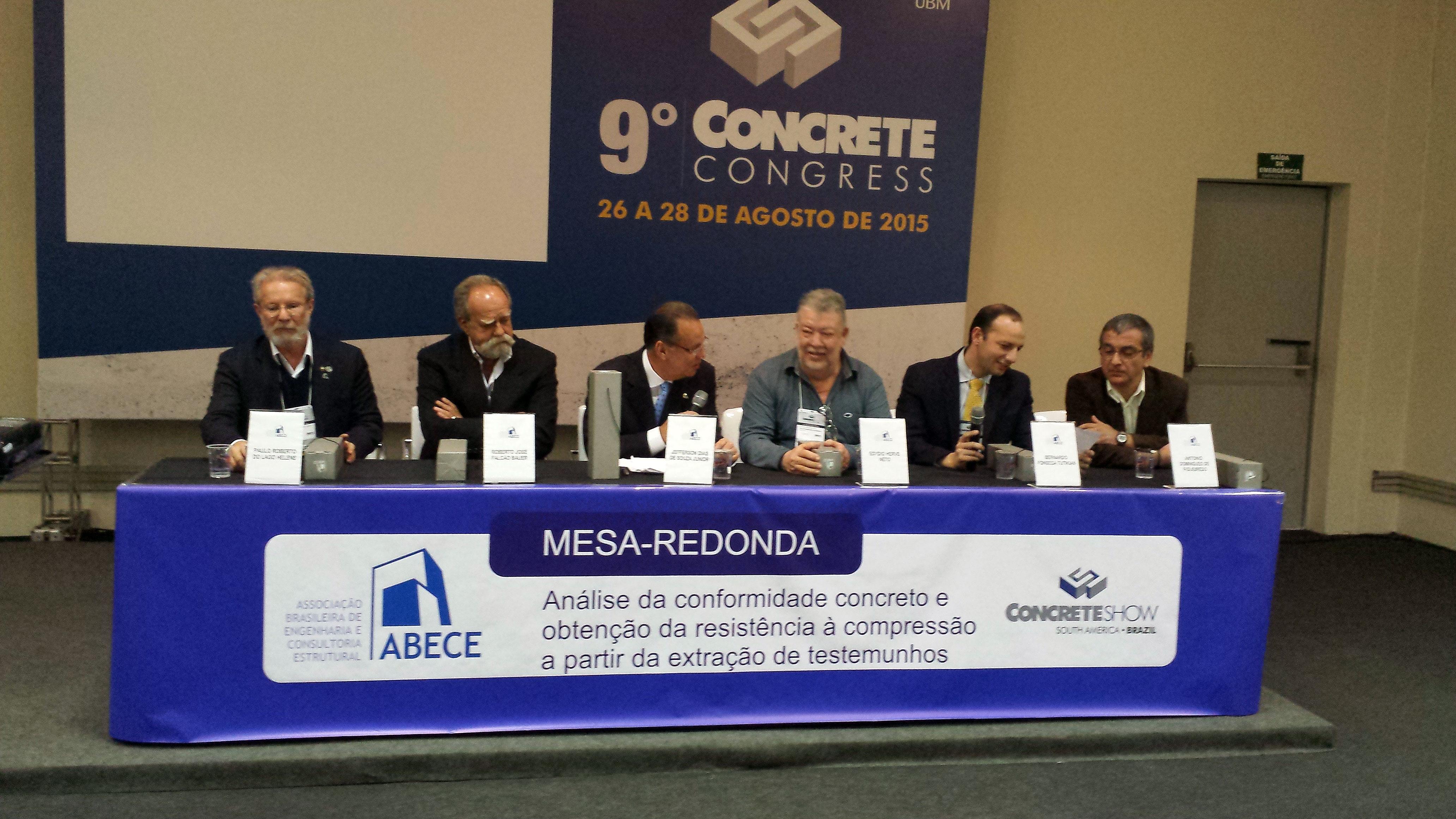 Debate ocorrido no Concrete Show, em agosto, levou ao consenso de que o concreto brasileiro não deixa a desejar a nenhum outro do mundo