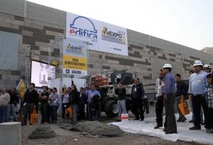 Engenheiros civis e tecnólogos formaram o público quer acompanhou a Expo Hormigón