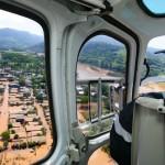 Enchente em Encantado-RS, causada pelo El Niño: fenômeno paralisou obras no Rio Grande do Sul