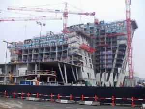 Fase de construção do Bella Sky: paredes de concreto e uma nova técnica de trabalhar o concreto