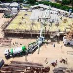 Etapa das fundações da nova catedral já consumiu 8 mil m³ de concreto