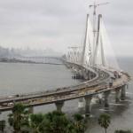 Ponte Bandra Worli Sea Link, em Mumbai: Índia caminha para passar a China em volume de obras