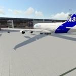 Projeção do terminal de Ponta Grossa: capacidade para receber o maior avião do mundo