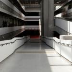 Área interna da UFABC: obra foi 100% construída com pré-fabricados de concreto