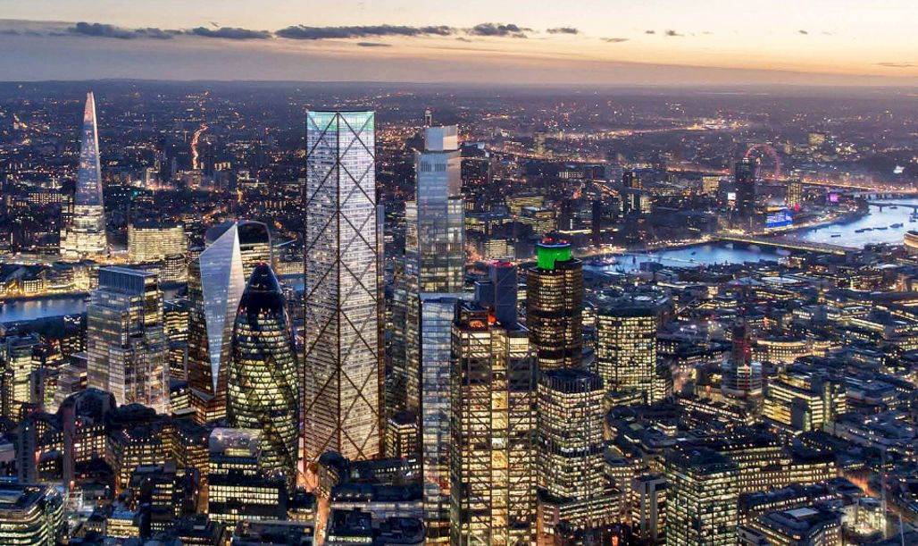 Edifício foi projetado pelo arquiteto Eric Parry e faz parte da revitalização de Londres iniciada em 2012