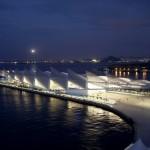 Visão noturna do Museu do Amanhã: projeto do espanhol Santiago Calatrava é novo cartão postal do Rio