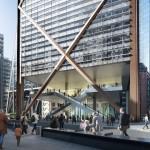O 1 Undershaft terá sua construção centrada em estruturas mistas de concreto e aço e fachada envidraçada