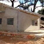 Casa-protótipo construída na UFOP: uso de agregados retirados dos rejeitos de siderurgia