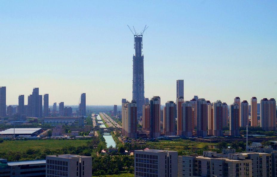 Goldin Finance 117: com 597 metros, vai abrigar escritórios, apartamentos habitacionais e hotel