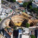 Olimpíadas também levam obras de infraestrutura para o Rio de Janeiro, como piscinões para combater enchentes