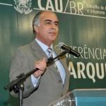 Haroldo Pinheiro, presidente do CAU-BR: são dados extremamente preocupantes