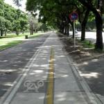 Ciclovia em Buenos Aires: 70 quilômetros de trechos em concreto, para incentivar uso da bicicleta