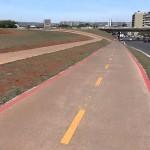 Faixa exclusiva para bicicletas no Distrito Federal: pretensão de Brasília é ser a capital sul-americana das ciclovias