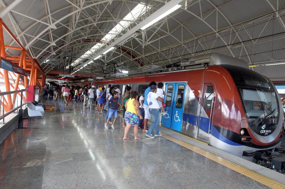 Estação Pirajá, na capital baiana: ponto final de uma obra cheia de percalços