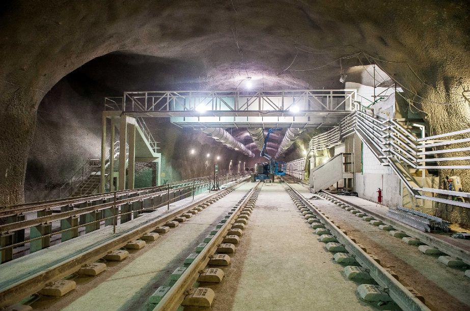 Túnel no trecho da Barra da Tijuca: ritmo do canteiro de obras deveria estar mais acelerado