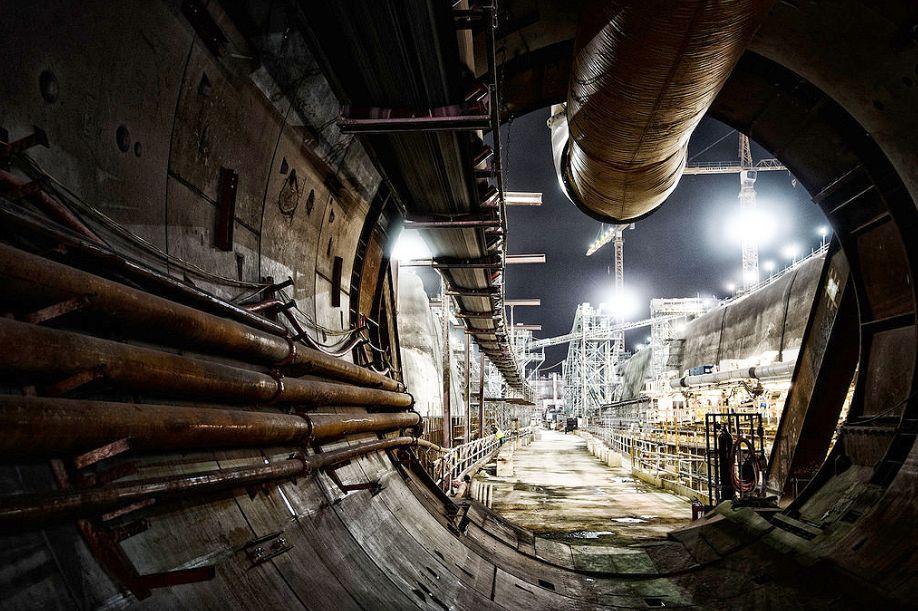 Túneis do trecho oeste do metrô do Catar já estão prontos