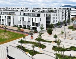 Bahnstadt quer unir moradias sustentáveis com empresas científicas de alta tecnologia