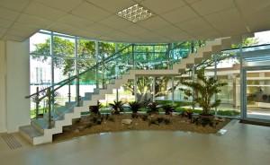 Cada um dos projetos de escada exige fôrmas próprias para sua fabricação