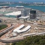 Cidade Olímpica, na Barra da Tijuca, cumpre cronograma e deve ser entregue em junho