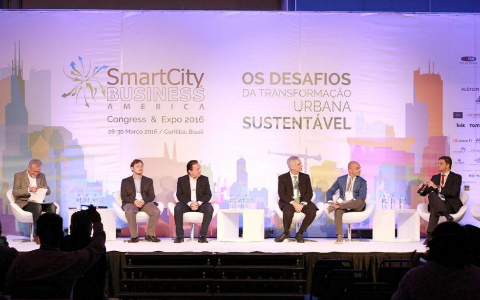 Debates da edição 2016 do SmartCity Business America aconteceram em Curitiba
